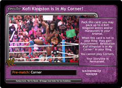 <i>Revolution</i> Kofi Kingston is In My Corner!